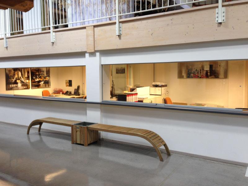 Rossini Legnostrutture showroom 8