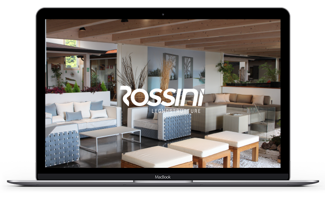 Rossini Legnostrutture - Lo showroom